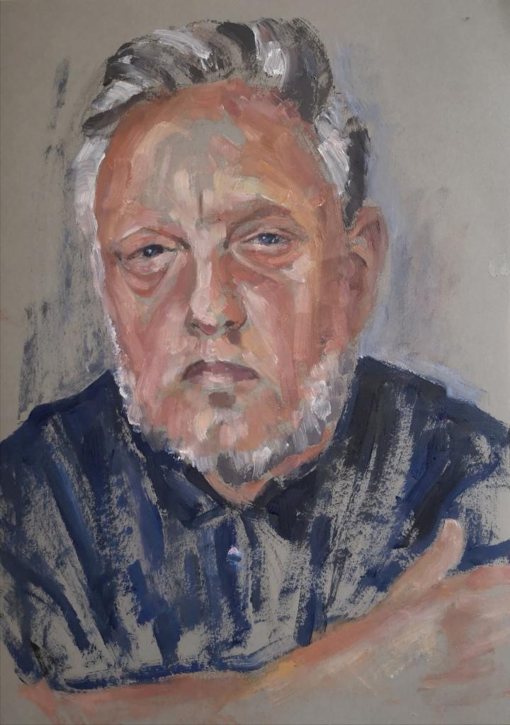 Portrait of Rankin by Clara Niniewski for the Portrait Artist of the Week Challenge
